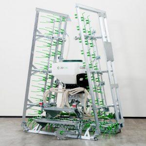 Zocon Greenkeeper. Leverbaar met verschillende opties zoals Zocon zaaimachine 300L, loopwiel, traptreden, LED verlichting enz. Neem voor informatie contact op met Zonderland Machinehandel of Zonderland Constructie; info@zocon.eu