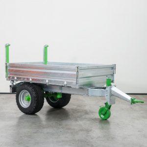 Zocon Kipper Z030 heeft een laadcapaciteit van 3000kg, een zelf sluitende achterklep. Met vele opties zoals hydraulische beremming, openslaande deuren en LED verlichting. Voor info neem contact op met Zonderland Constructie info@zocon.eu