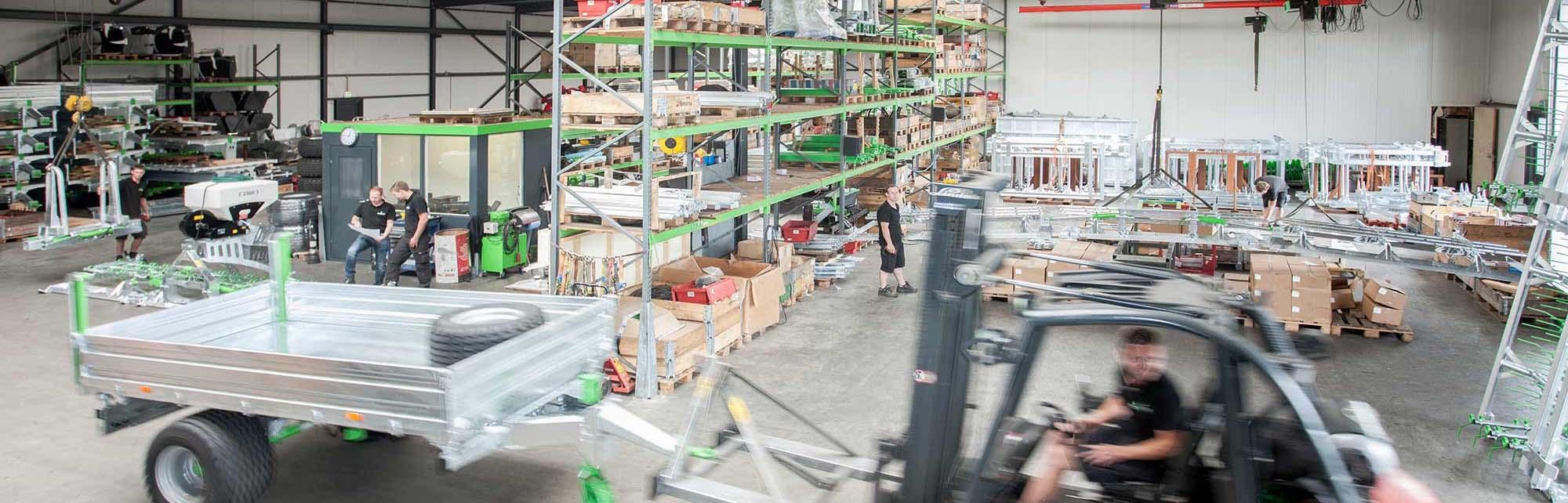 Zonderland Machinehandel - Landbouwmachines van Unia, Agromet, Francini en Zocon Joure